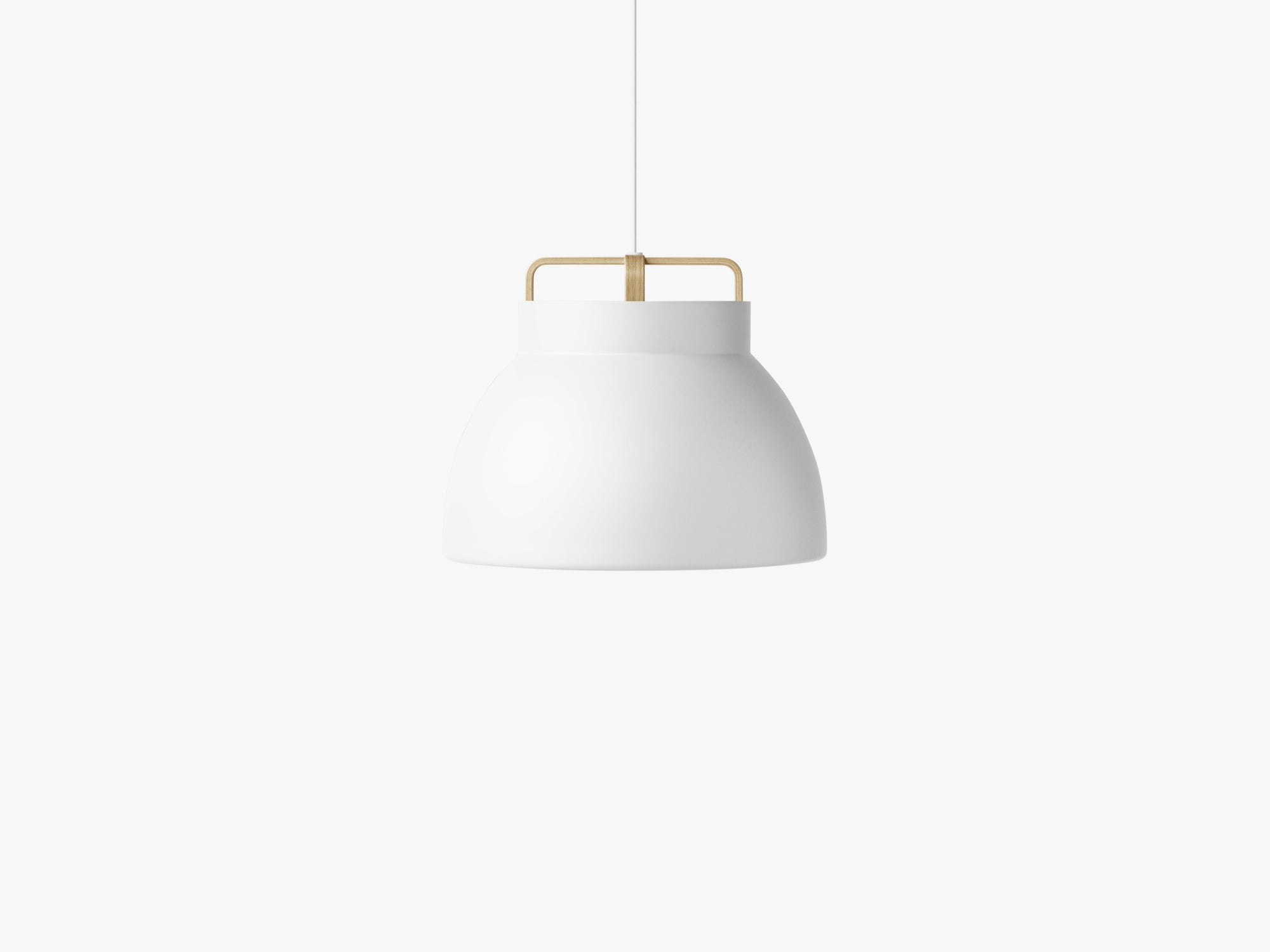 Voyage Pendant M3, Ø46 White/Oak fra MILLION