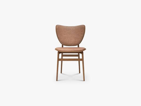 Elephant Chair, Brown/Camel Leather fra NORR11