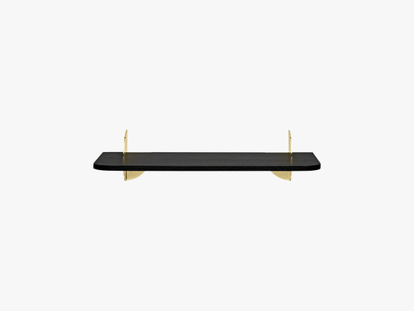 AEDES shelf black/gold, small fra AYTM