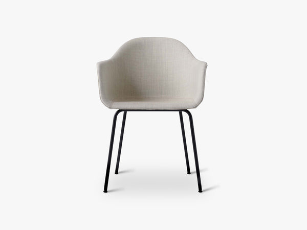 Harbour Chair, Remix 233/ Black Steel Base fra Menu