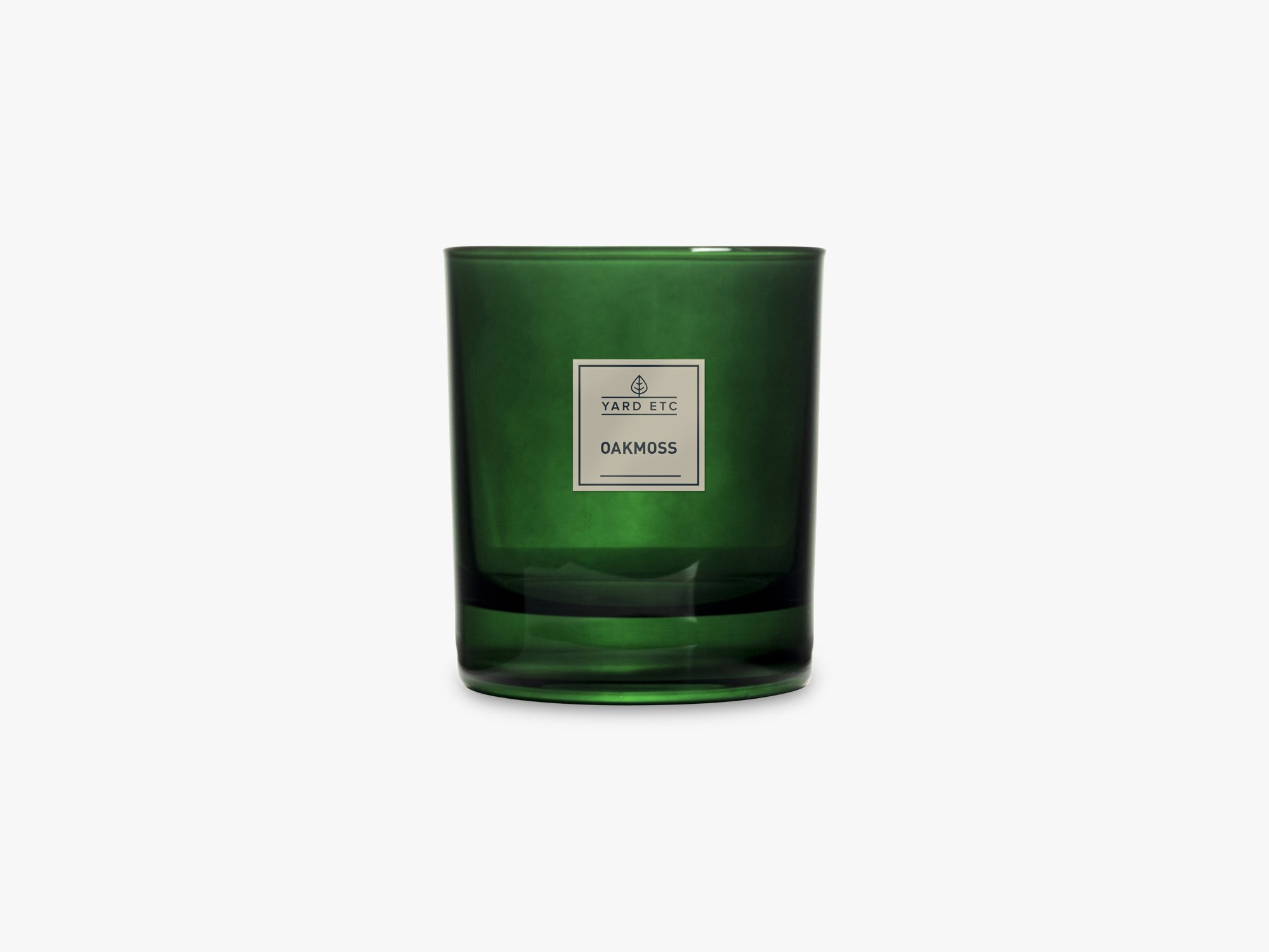 Scented Candle - 240g, Oak Moss fra Yard Etc