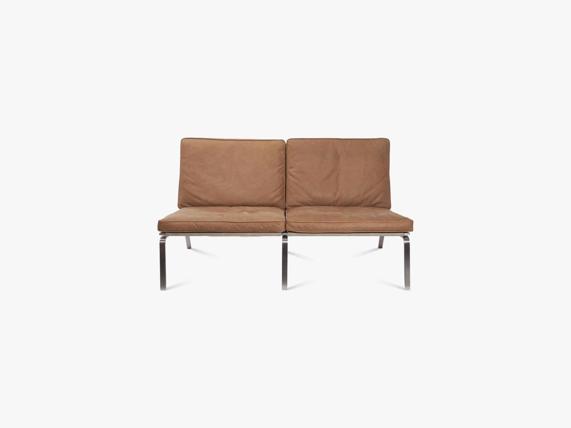 Man Sofa, Two-Seater, Camel fra NORR11