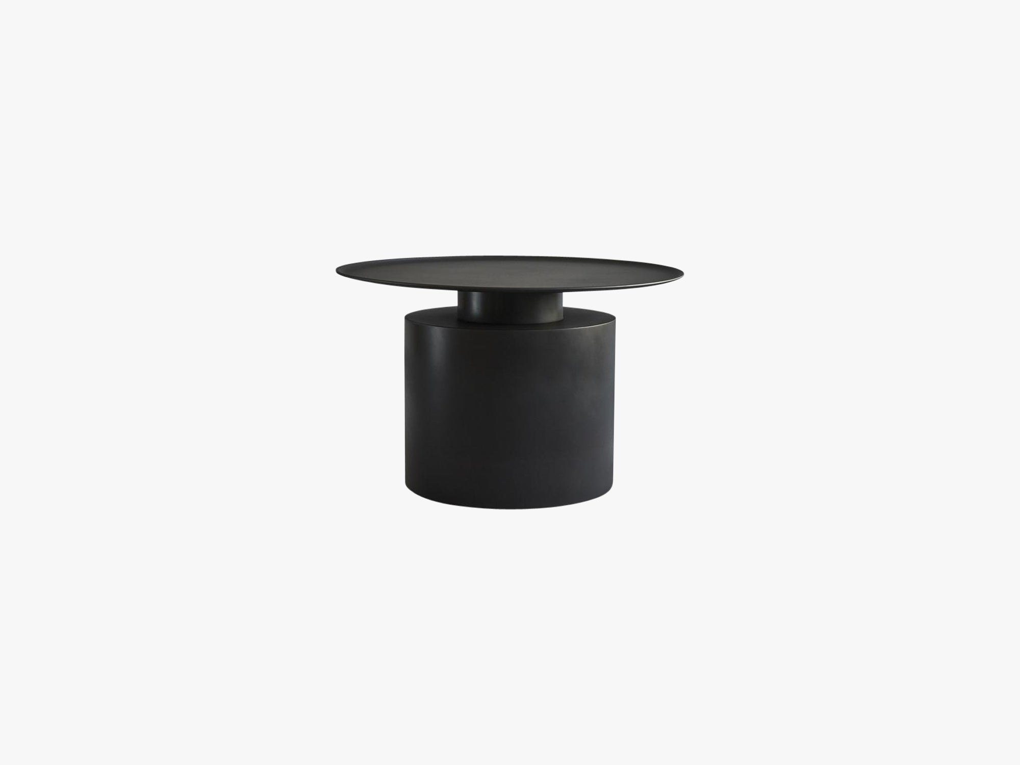 Pillar Table, Low, Burned Black fra 101 Copenhagen