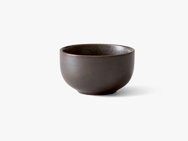 New Norm Bowl, Ø7,5 cm, Dark Glazed fra Menu
