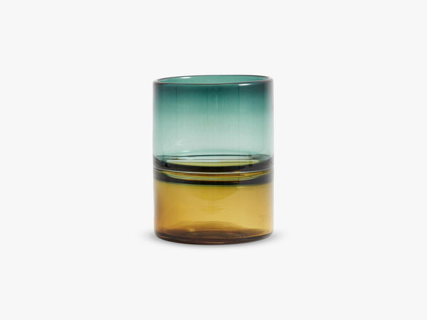 Vase, 2 color glass, fra Nordal