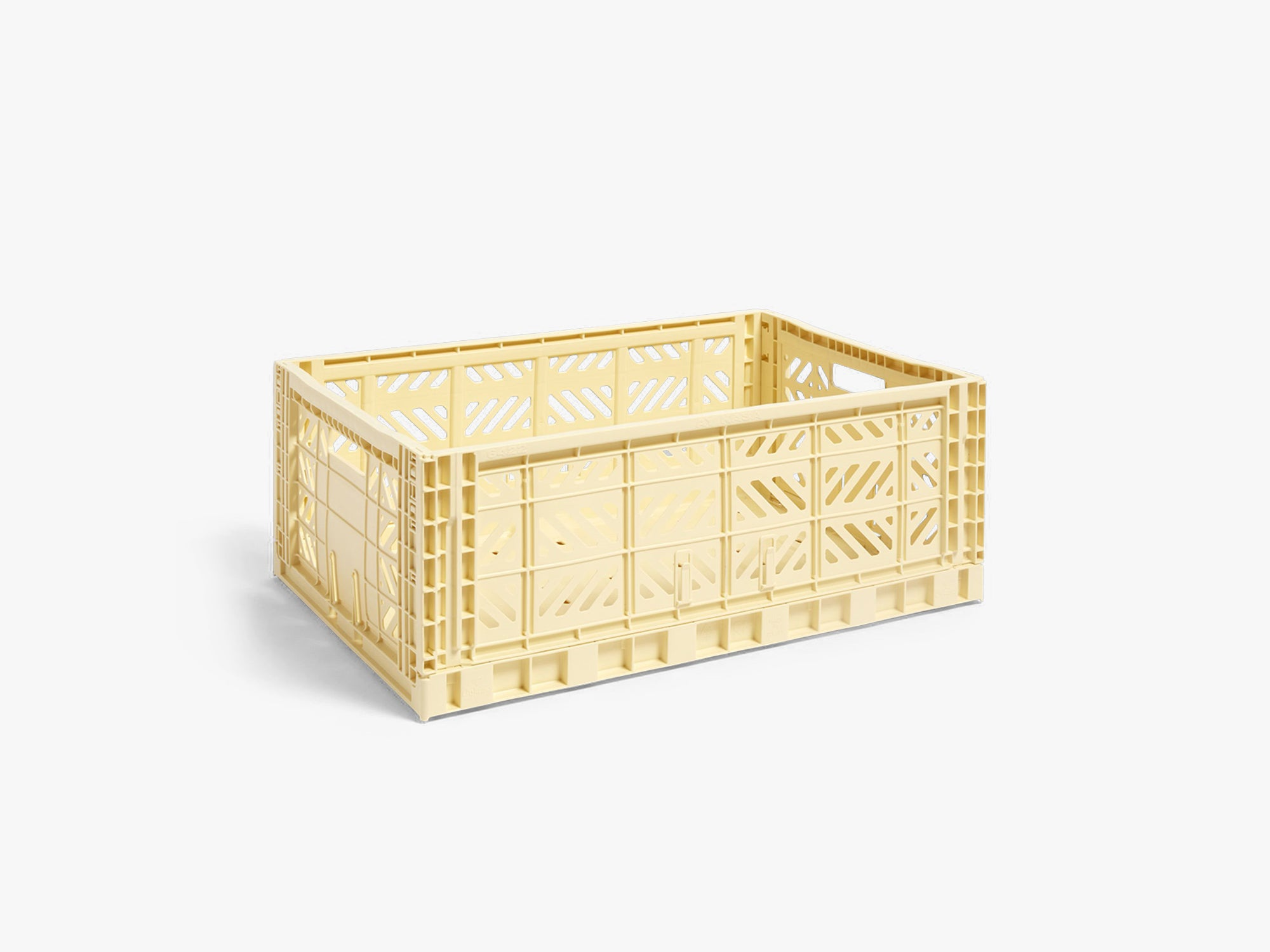 Colour Crate Large, Light Yellow fra HAY