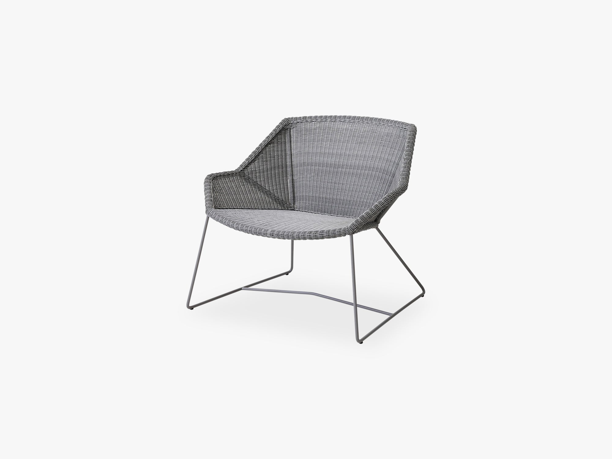 Breeze Loungestol, Light Grey fra Cane-Line