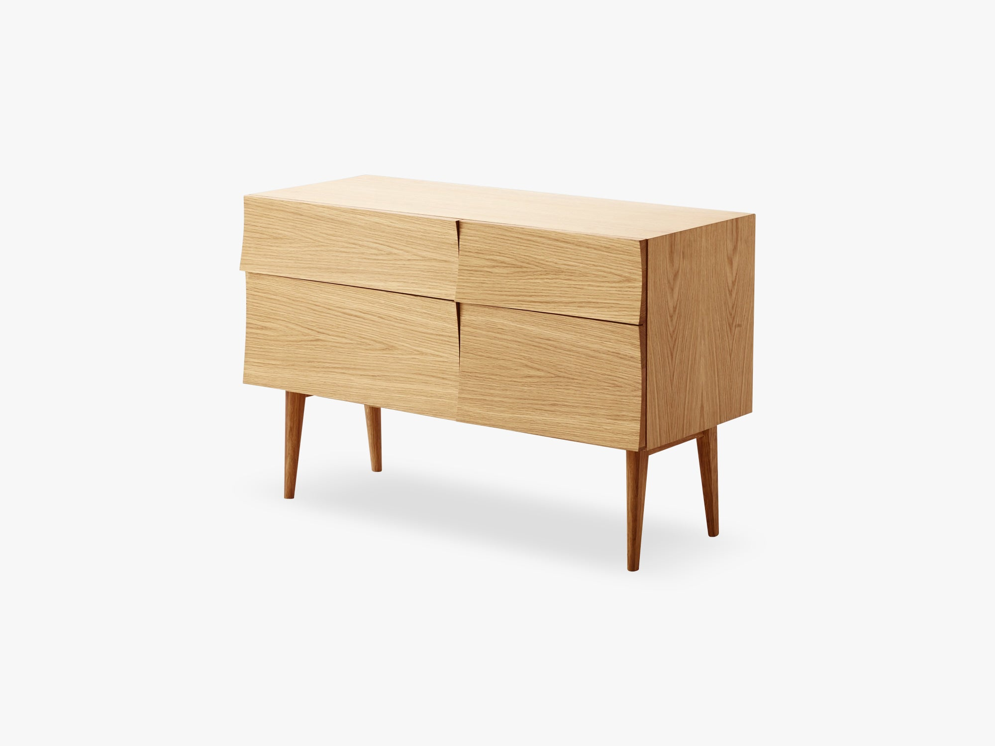 Reflect Sideboard / Small, Oak fra Muuto
