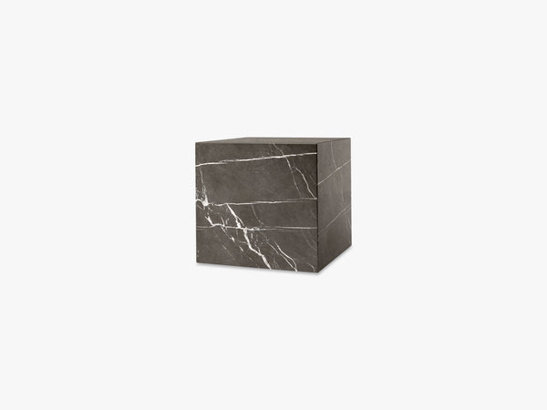 Plinth Cubic, Brown Grey Marble fra Menu