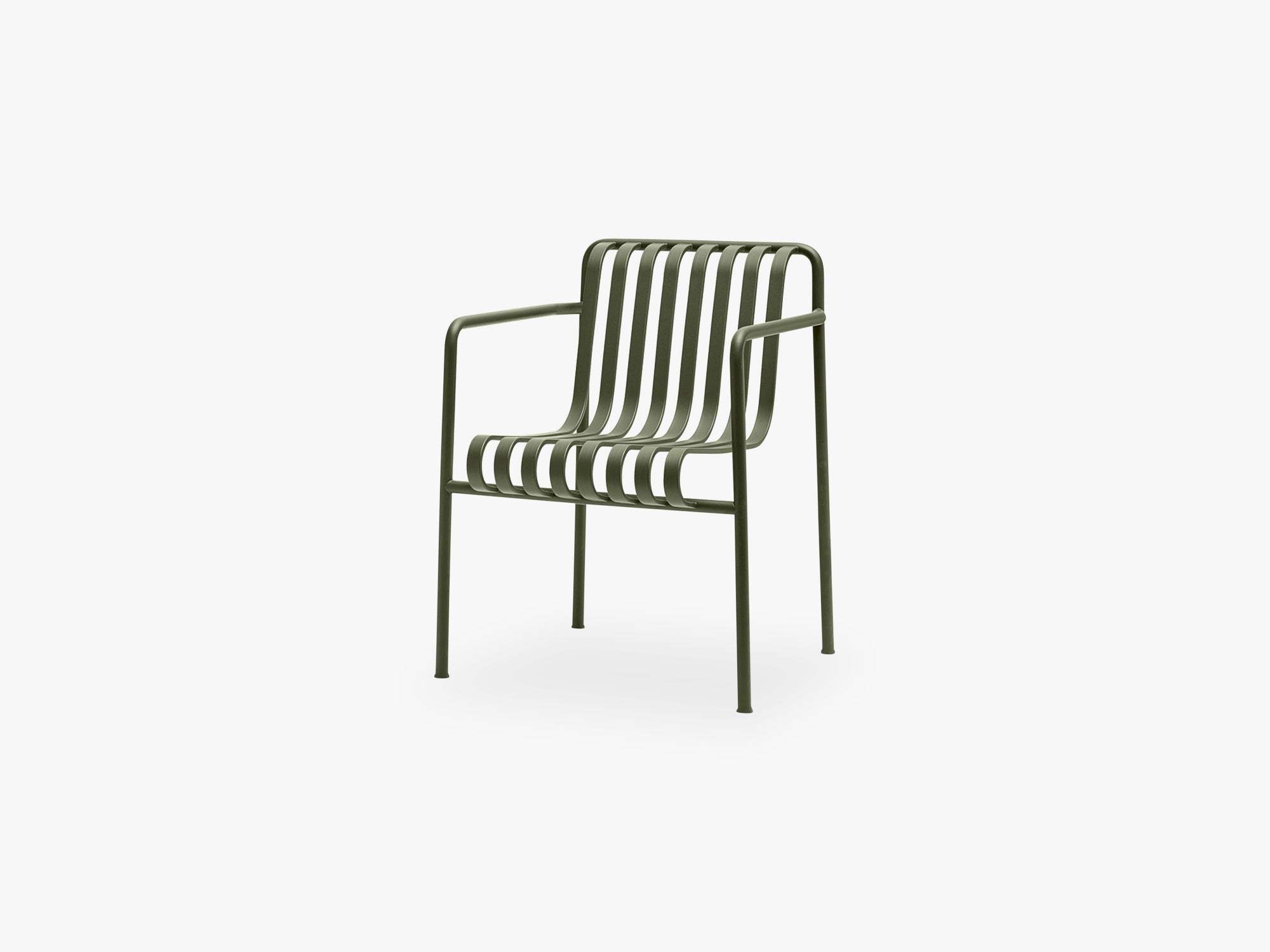 Palissade Dining Armchair, Olive fra HAY