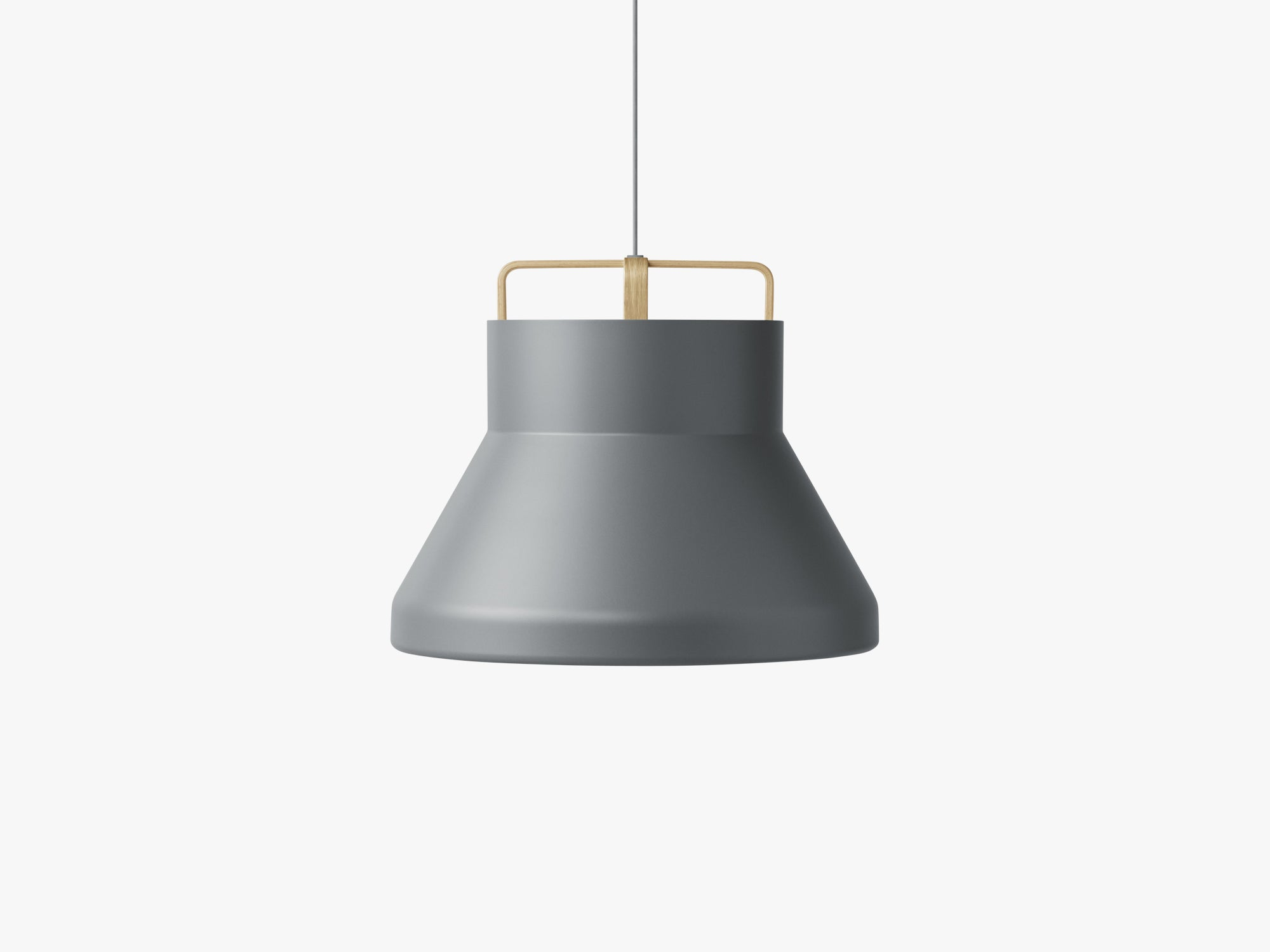 Voyage Pendant M2, Ø58 Dark Grey/Oak fra MILLION