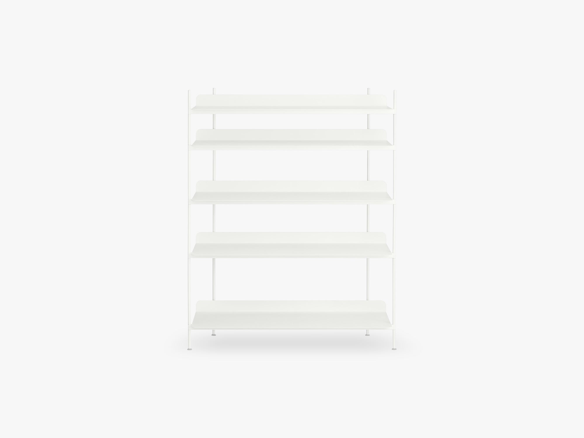 Compile Shelving System / Configuration 3, White fra Muuto