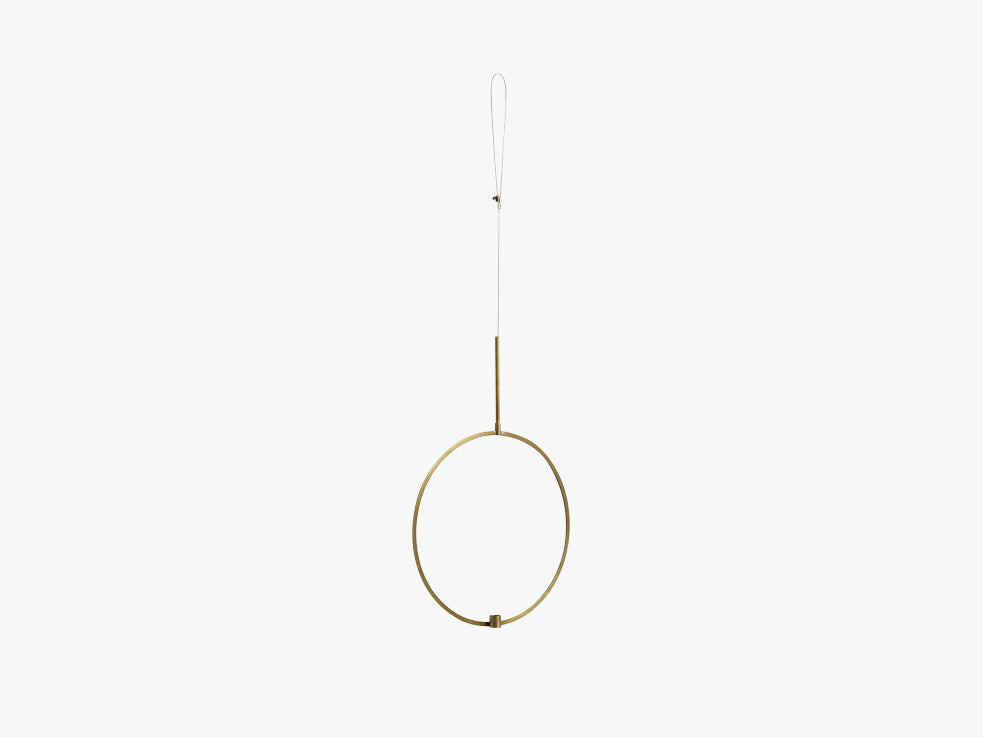 Circle candle holder f/hanging, small fra Nordal