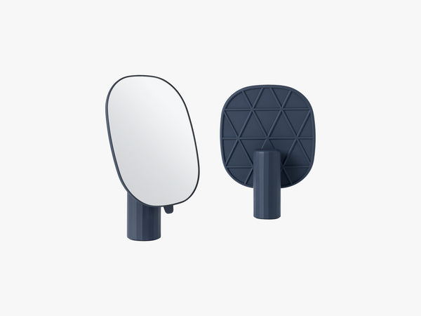Mimic Mirror, Midnight Blue fra Muuto