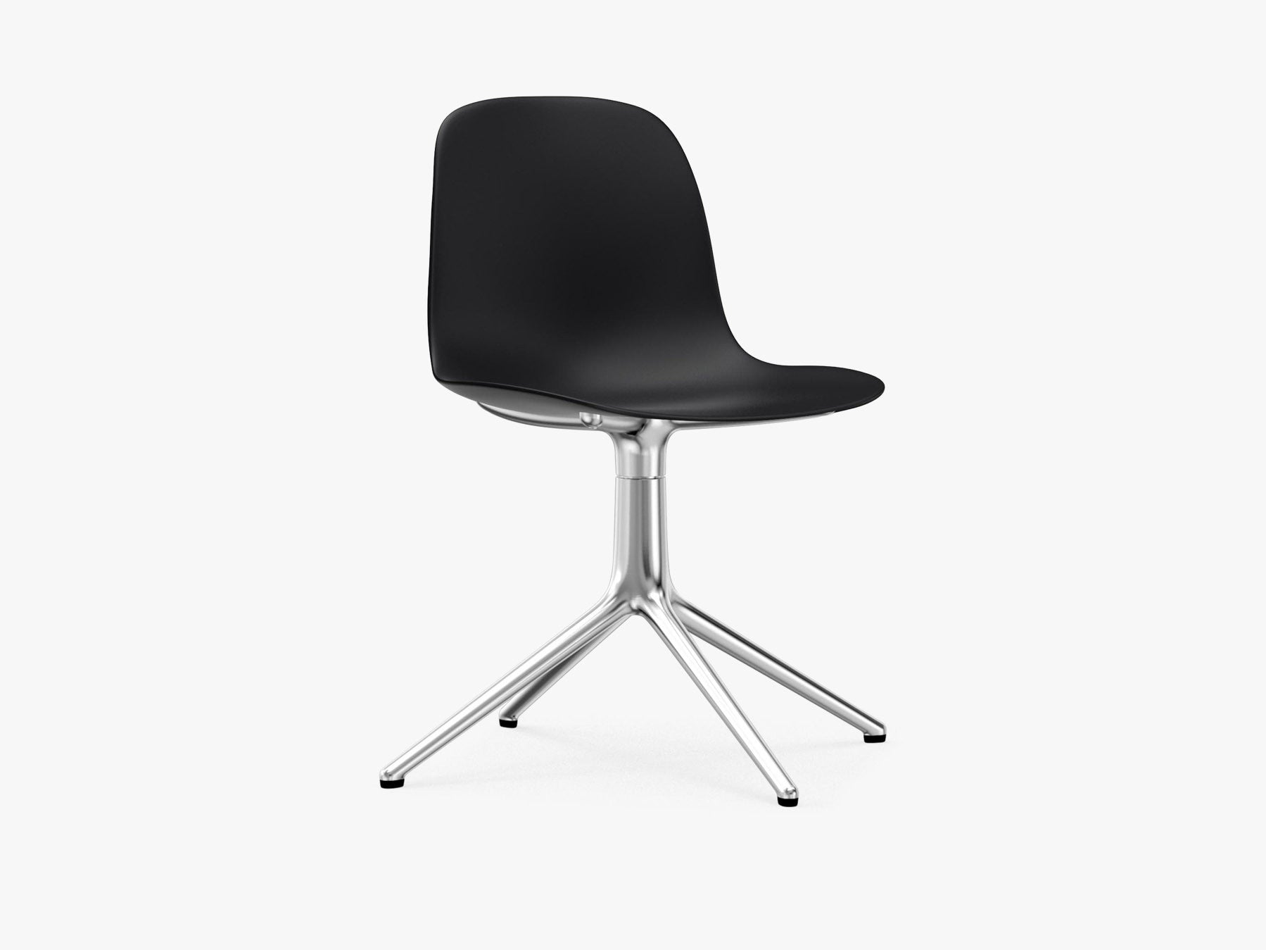 Form Swivel, Sort, Alu fra Normann Copenhagen