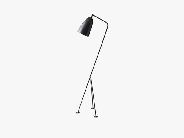 Gräshoppa Floor Lamp, Anthracite Grey fra GUBI