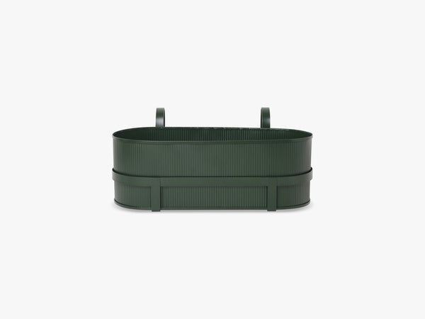 Bau Balcony Box, Dark Green fra Ferm Living
