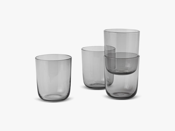 Corky / Carafe & Glasses / Tall, Glasses - Tall - Grey fra Muuto