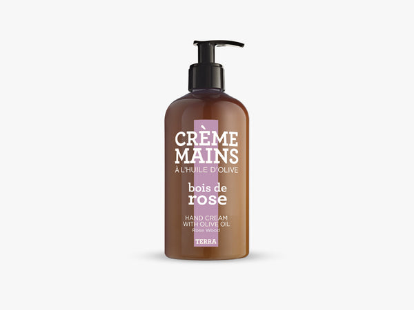 TERRA Hand Cream 300ml, Rose Wood fra Savon De Marseille