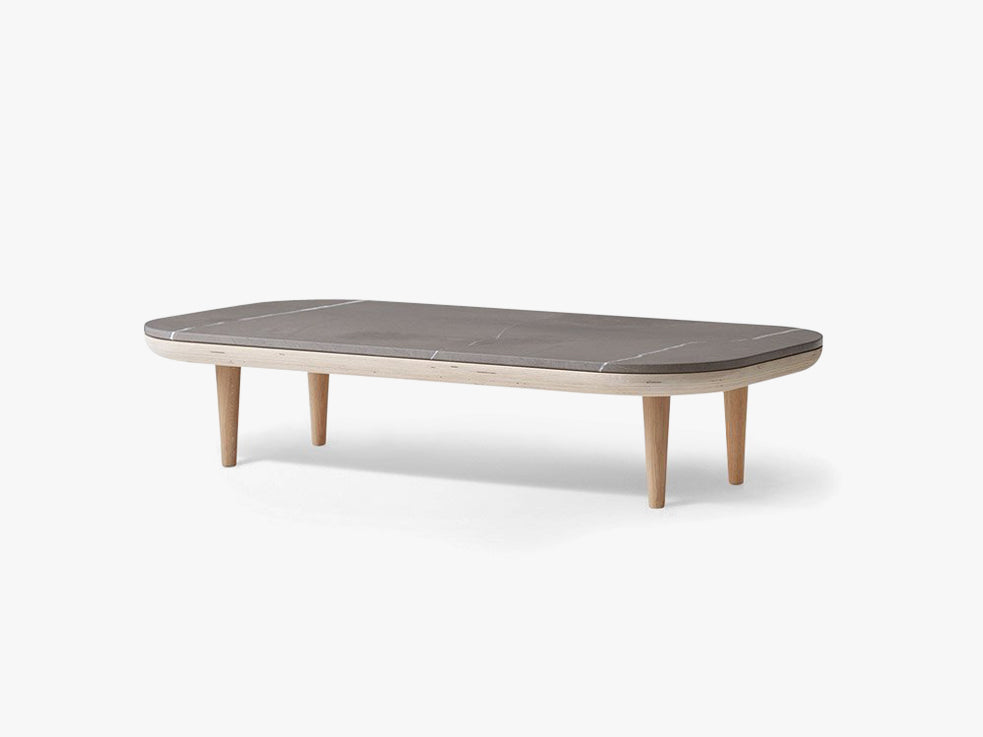 Fly table SC5 white - Pietra di Fossena fra &tradition