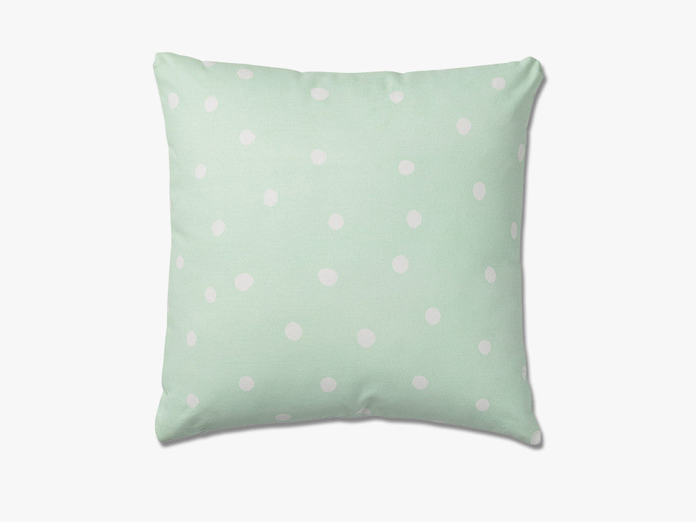 Cushion, Winter Mint w/White fra Bloomingville