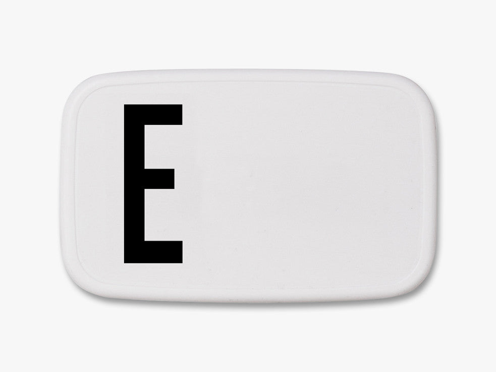 E - Personal Lunch Box fra Design Letters