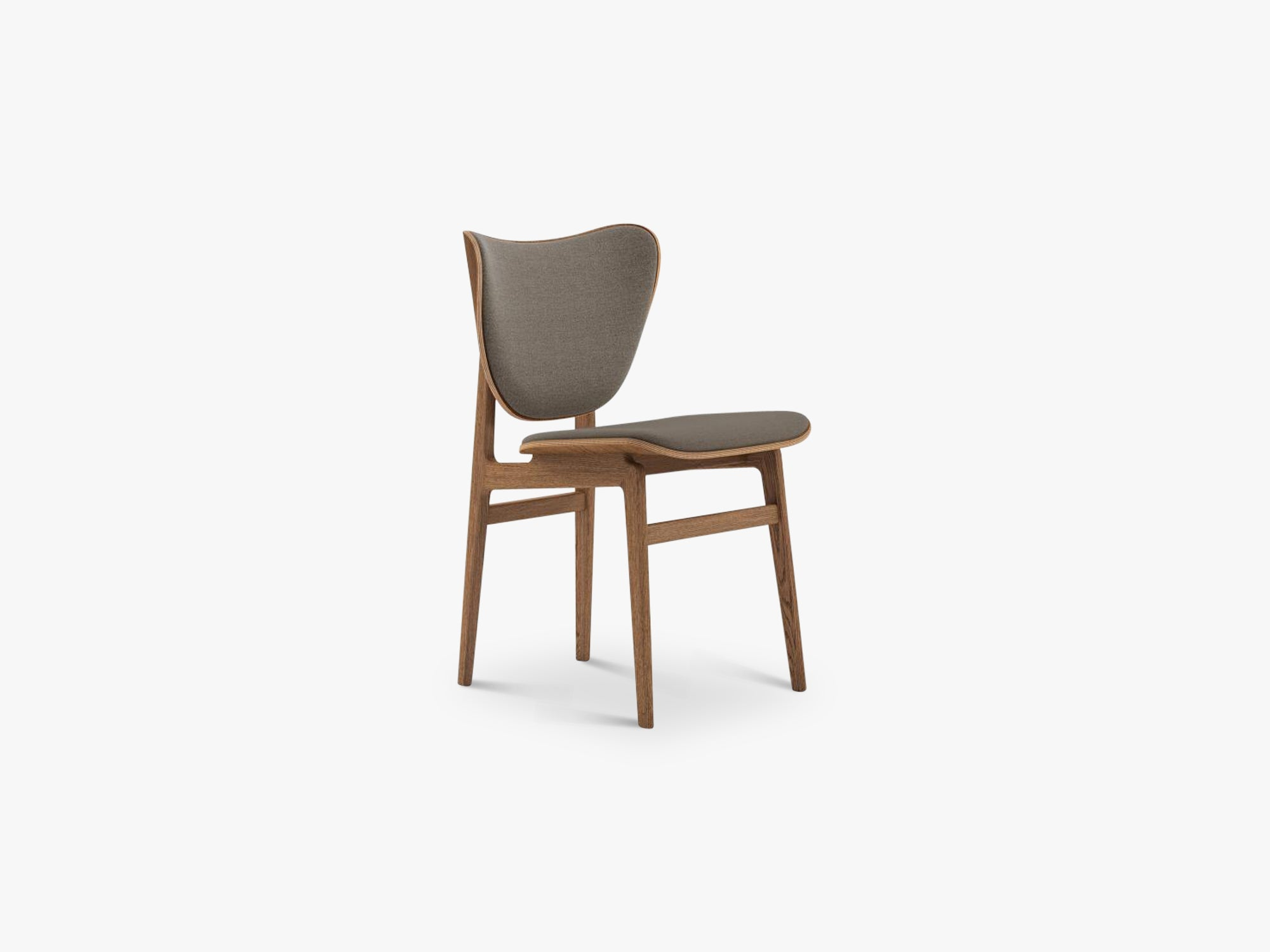 Elephant Chair, Brown/Fawn Wool fra NORR11