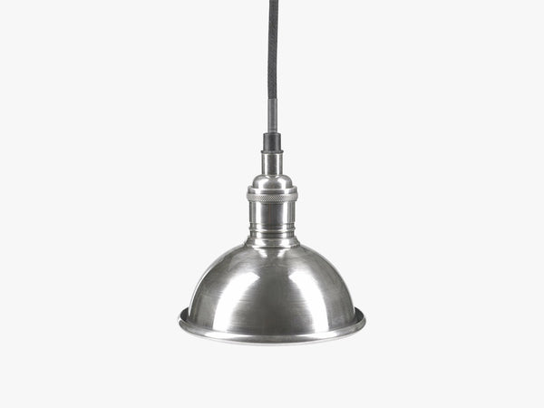 Lamp for ceiling, h-14, ø-14, antsilver fra Nordal