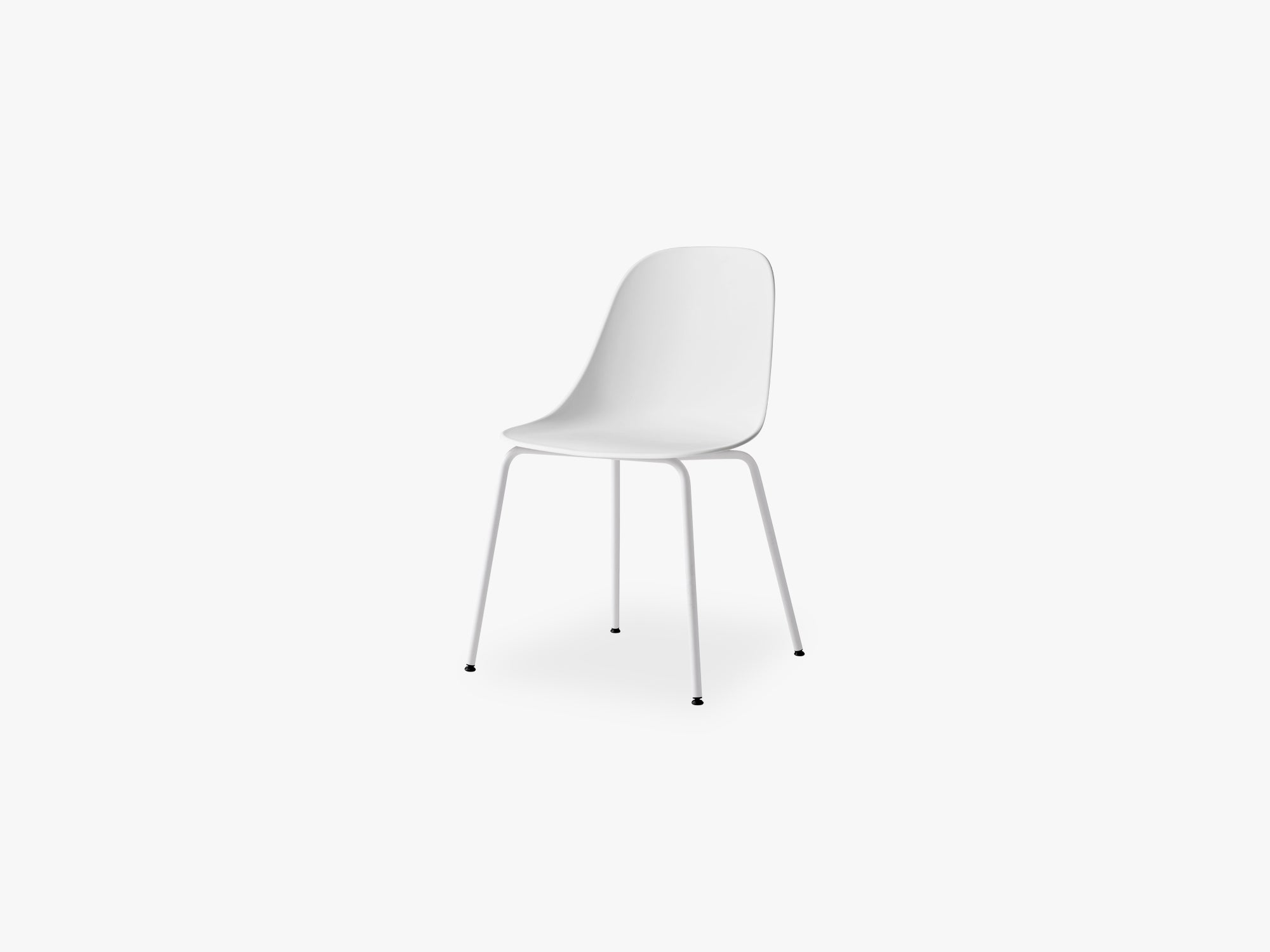 Harbour Side Chair, Light Grey/Light Grey Shell fra Menu