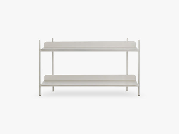 Compile Shelving System / Configuration 1, Grey fra Muuto