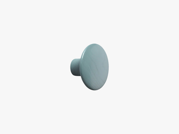 The Dots Coat Hooks / Small, Petroleum fra Muuto