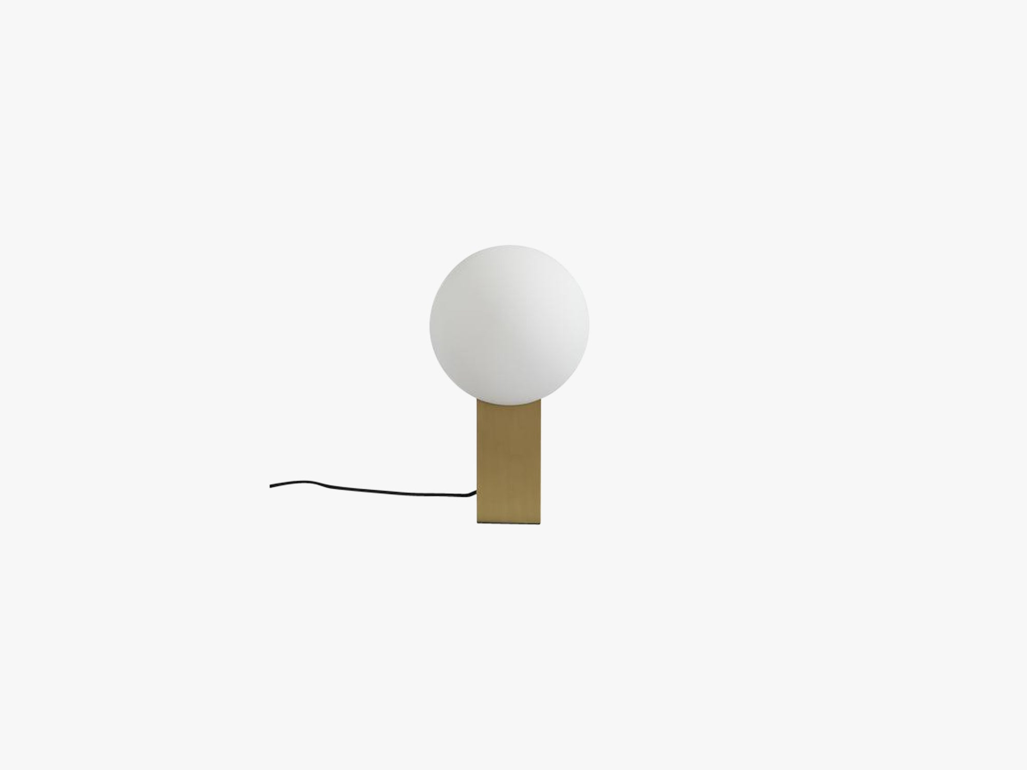 Hoop Table Lamp, Brass fra 101 Copenhagen
