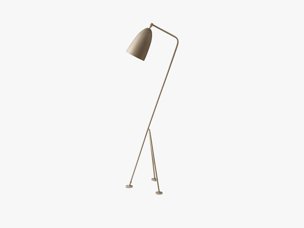 Gräshoppa Floor Lamp, Warm Grey fra GUBI