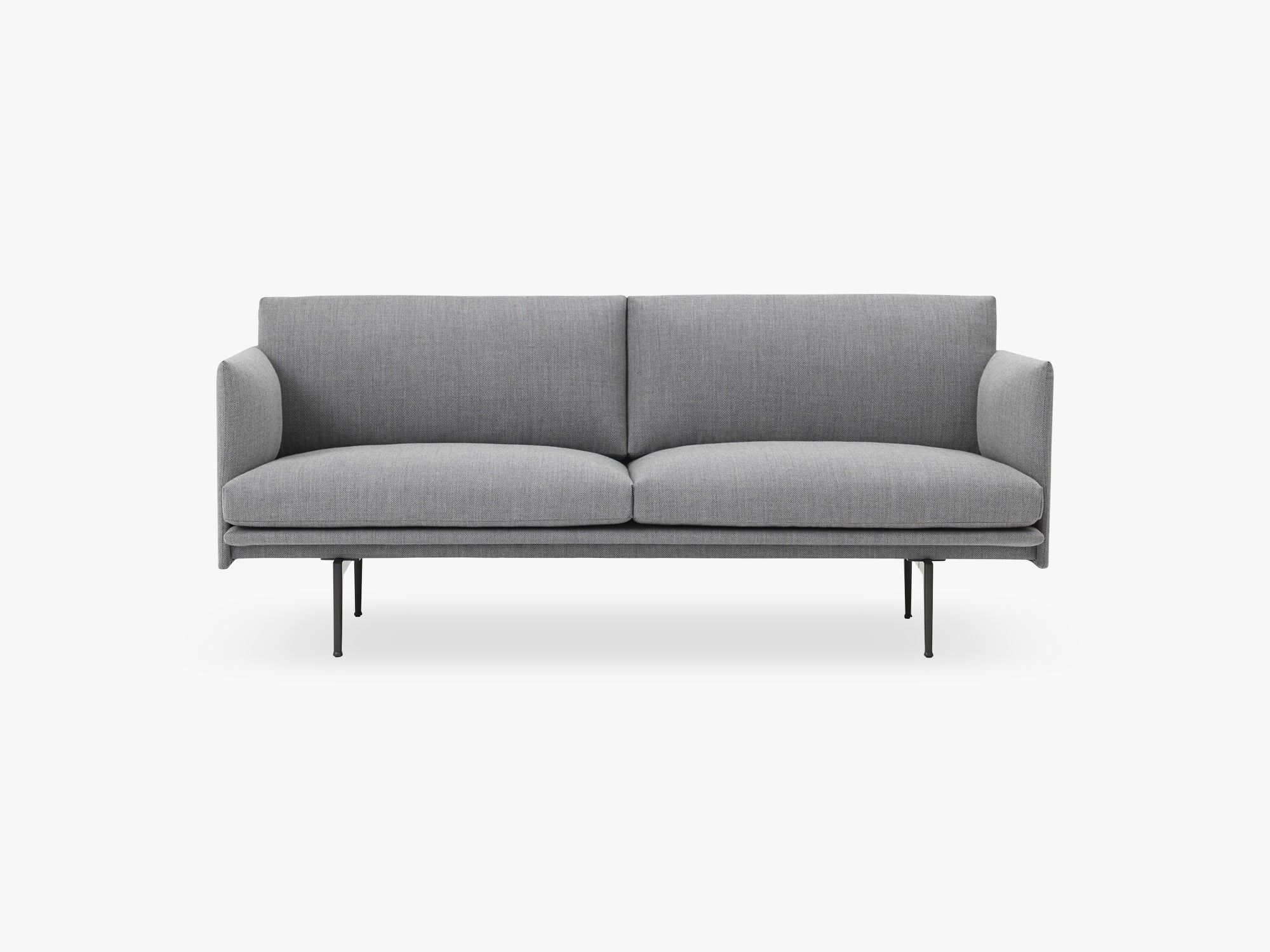Outline Sofa - 2-Seater, Fiord 151 fra Muuto