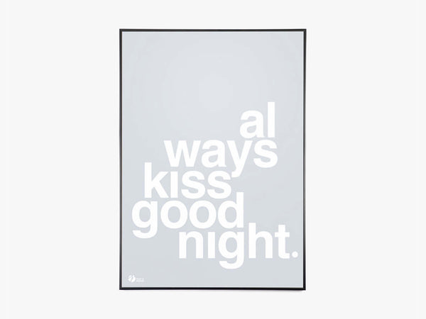 Always Kiss Goodnight, Grey fra By Krohn
