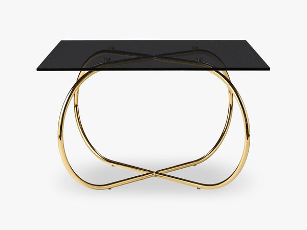 ANGUI table, black/gold fra AYTM