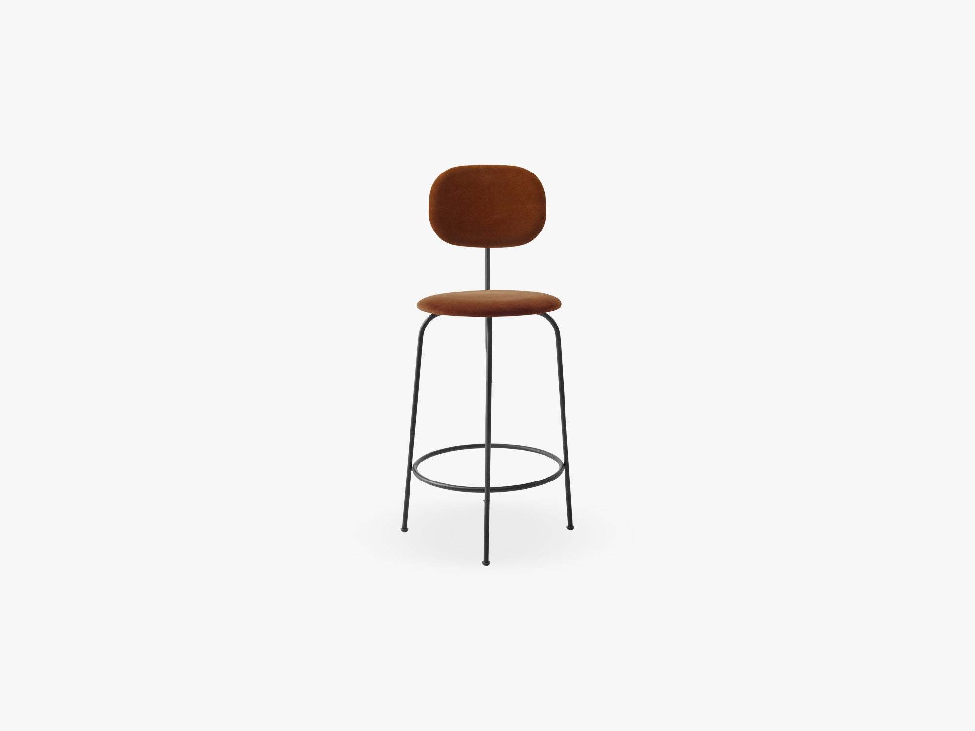 Afteroom Counter Chair Plus, Black/City Velvet CA7832/062 fra Menu