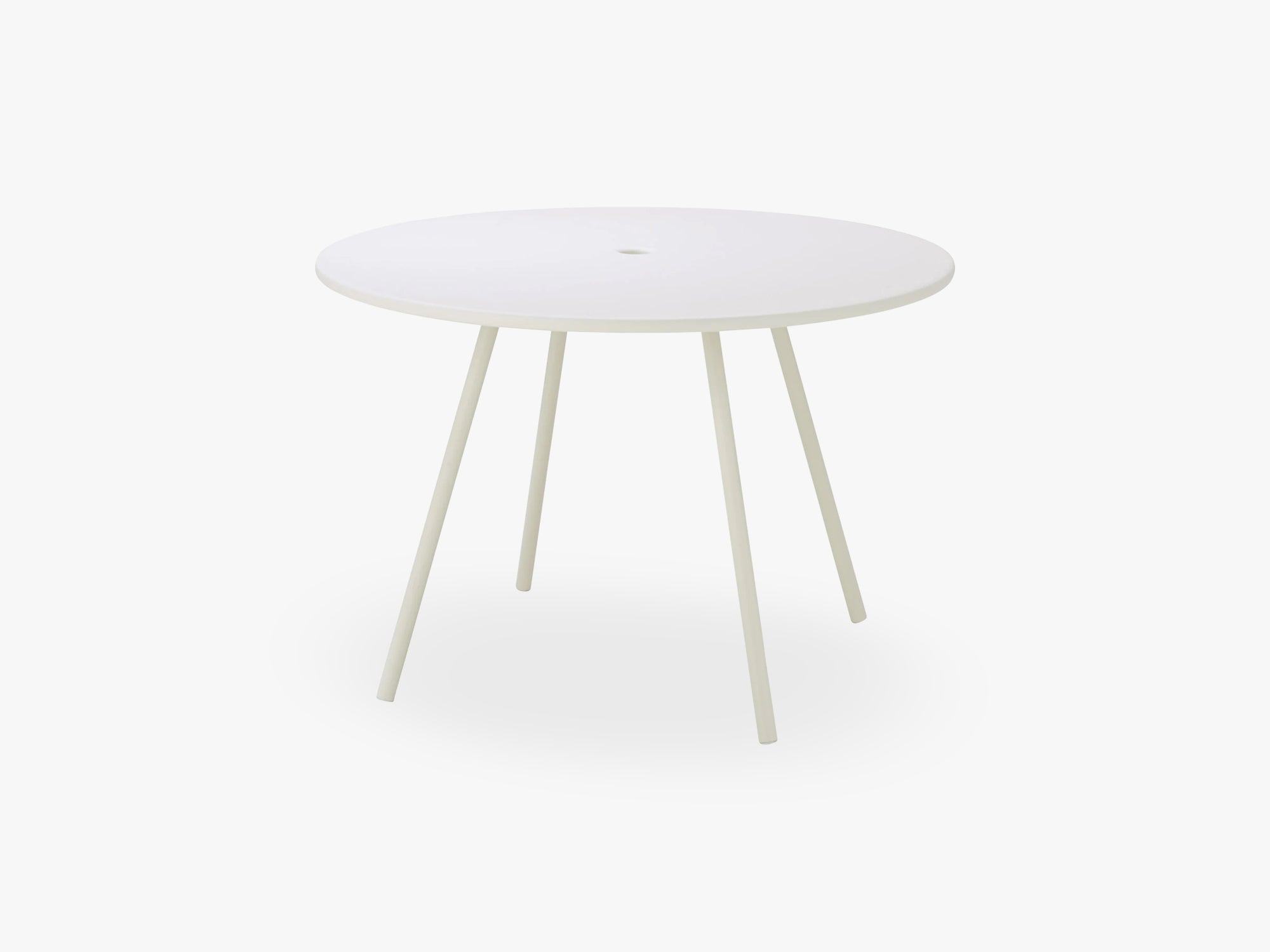 Area Dining Table Dia 110 Cm, White fra Cane-Line