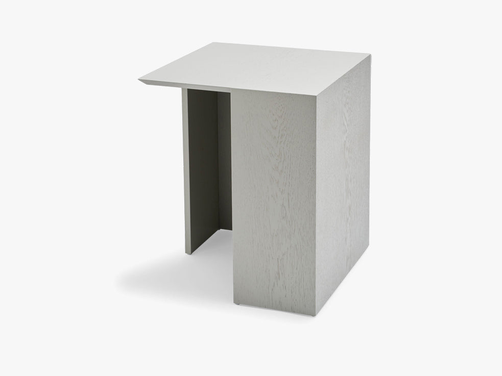 Building Table 40x40, Light grey, Oak, FSC Mix fra SKAGERAK