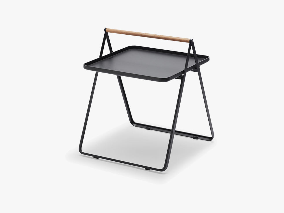 By Your Side Tray Table, Anthracite black fra SKAGERAK