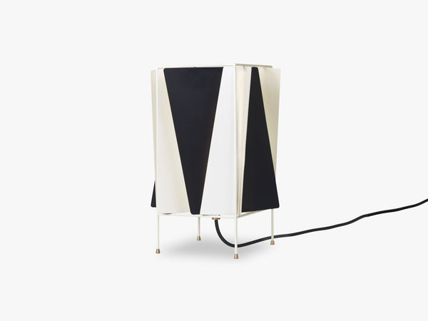 B-4 Table Lamp, Oyster White Semi Matt fra GUBI