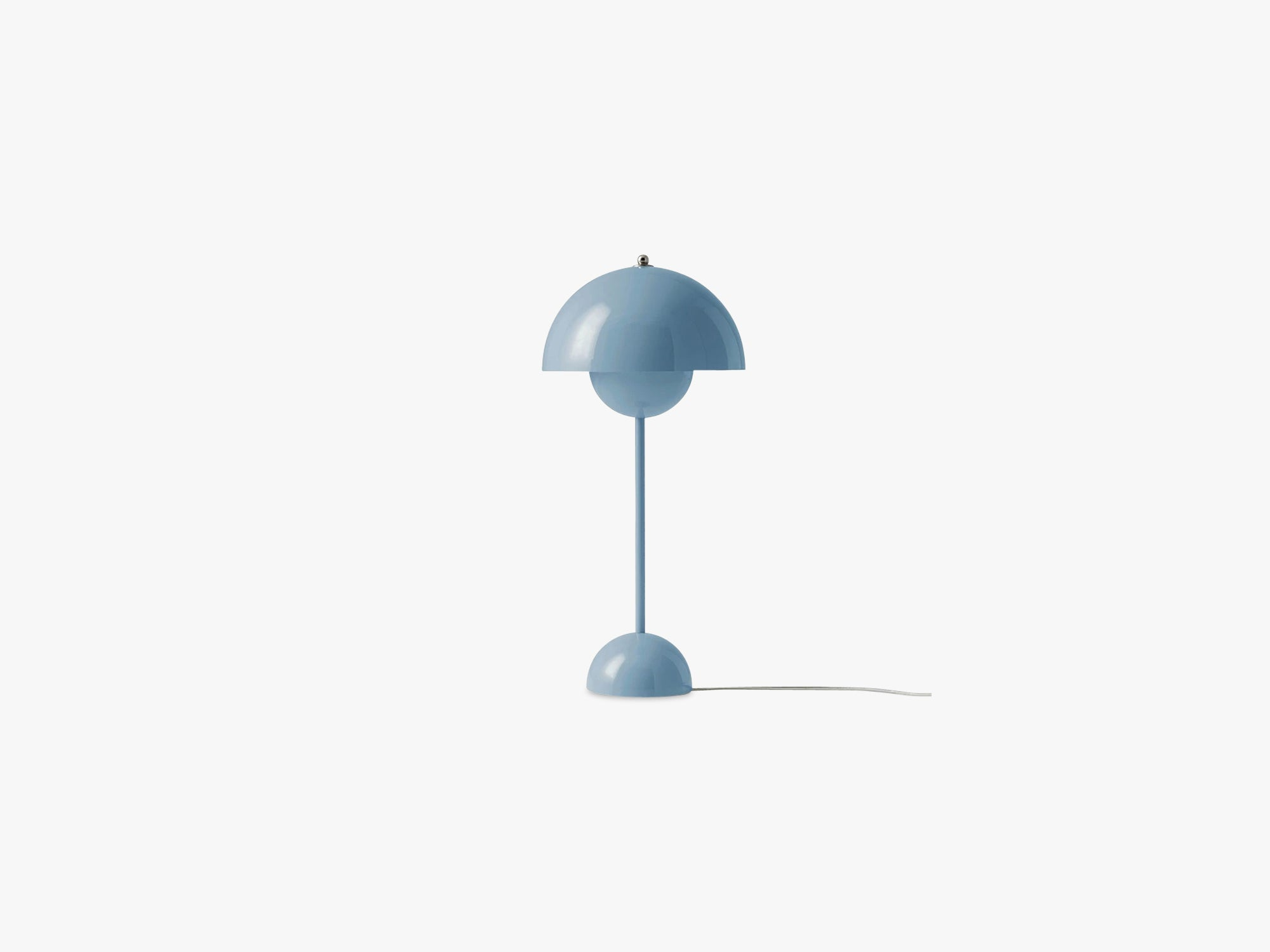 Flowerpot Table Lamp - VP3, Light Blue fra &tradition