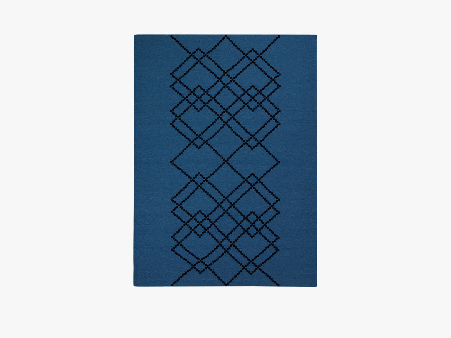 Rug Borg - 140x200 - Royal Blue fra Louise Roe