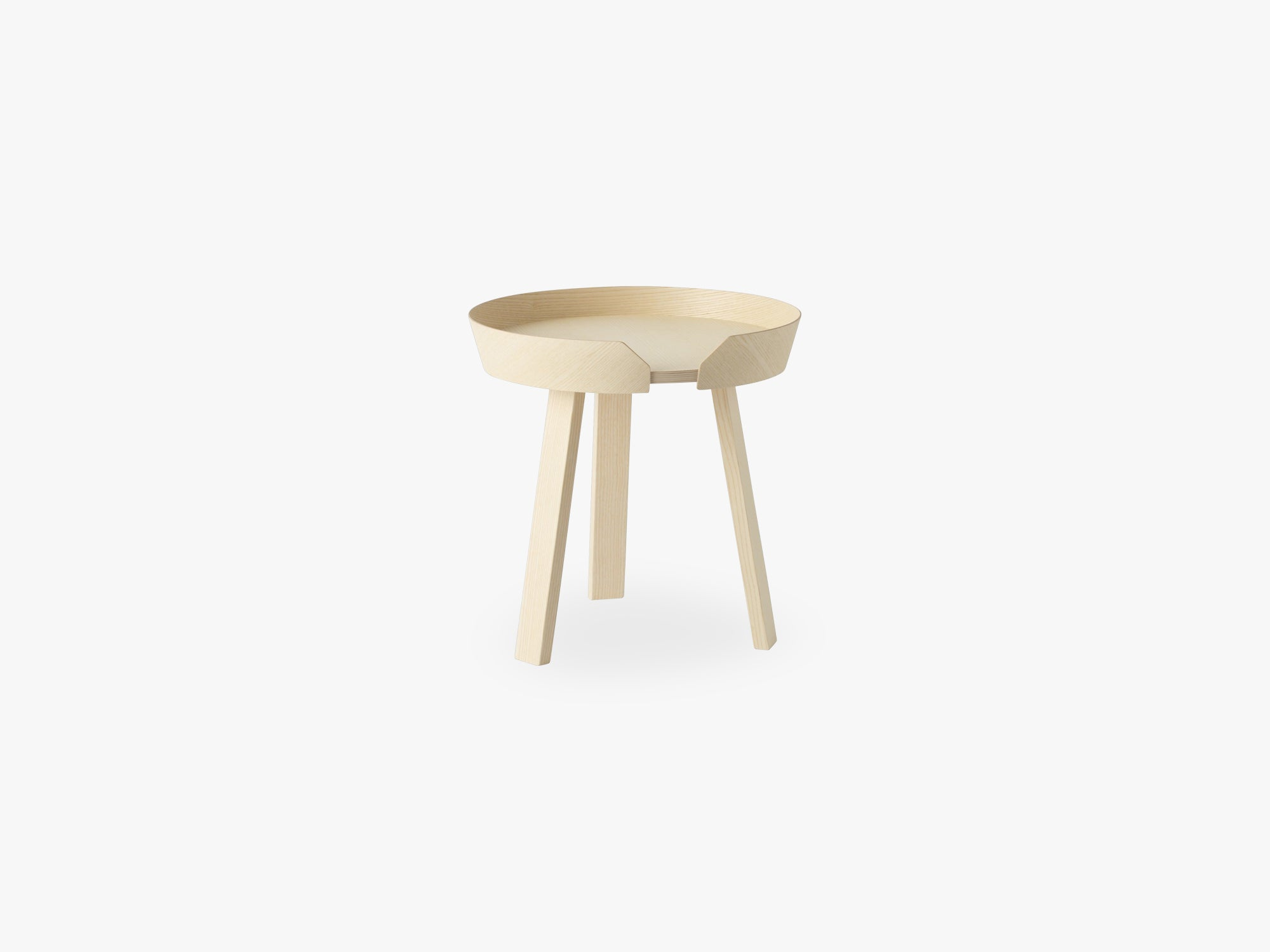 Around Coffee Table - Small, Ash fra Muuto