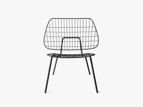 WM String Lounge Chair - Sort fra Menu