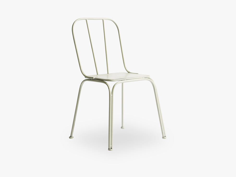 DOWNTOWN chair, white, h-85/42, w-44 fra Nordal