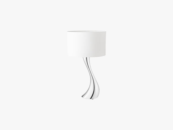 Cobra Lamp, Small, White fra Georg Jensen