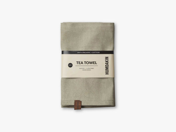 Organic Tea Towels, Oak fra HUMDAKIN