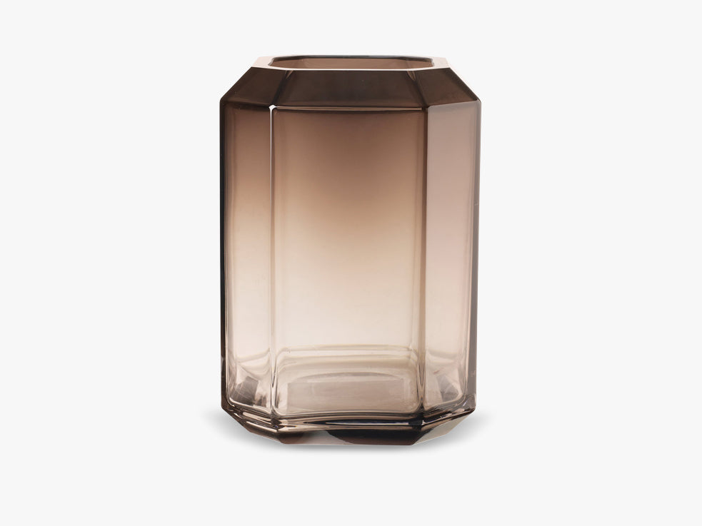 Jewel Vase XL, Smoke fra Louise Roe