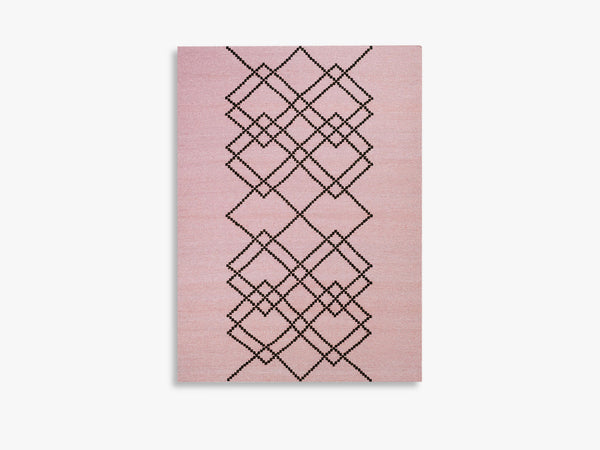Rug Borg - 170x240 - Light Rose fra Louise Roe